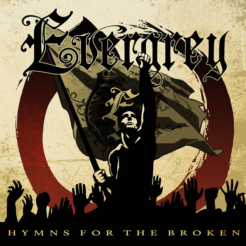 evergrey - hymns for the broken cover