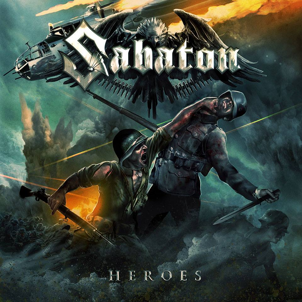 Sabaton - Heroes Cover art