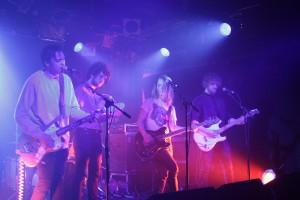 Orange Maplewood from left to right: Jordy Sanger (vocals, guitar), Emiel de Nennie (tamburin), Duncan Daalmeijer (drums), Darek Mercks (vocals, bass) and Robbi Meertens (vocals, guitar)