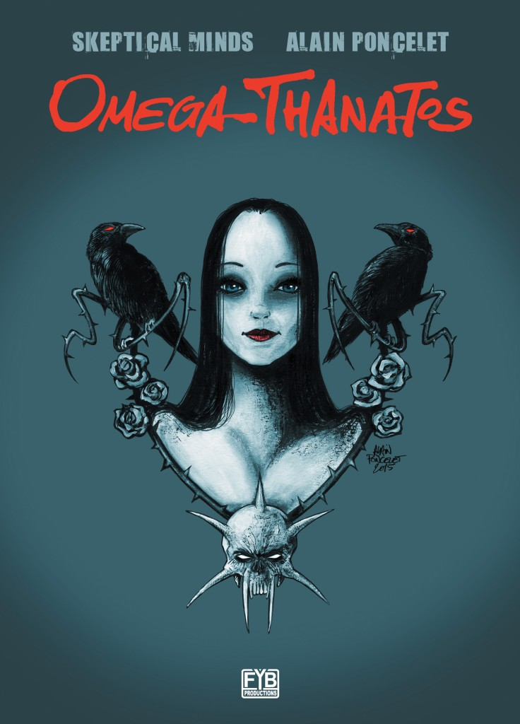 Omega Thanatos Cover Print